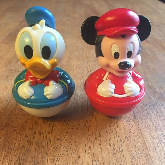 0e175043915 Vintage Mickey Mouse & Donald Duck Toys